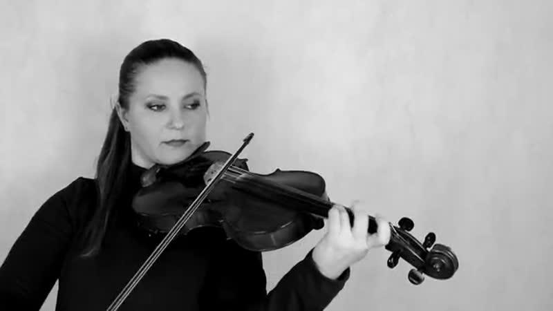 Ксения Корчевая-Песня М.Круга Кольщик (Кавер на скрипке и фортепиано)