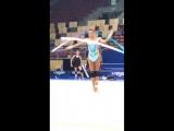 Александра Солдатова лента опробование II Чемпионат Мира София 2018
