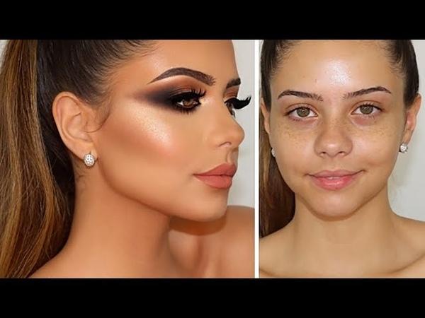 Copper Smokey Eyes Perfect Skin Highlight Contour Baking | Melissa Samways