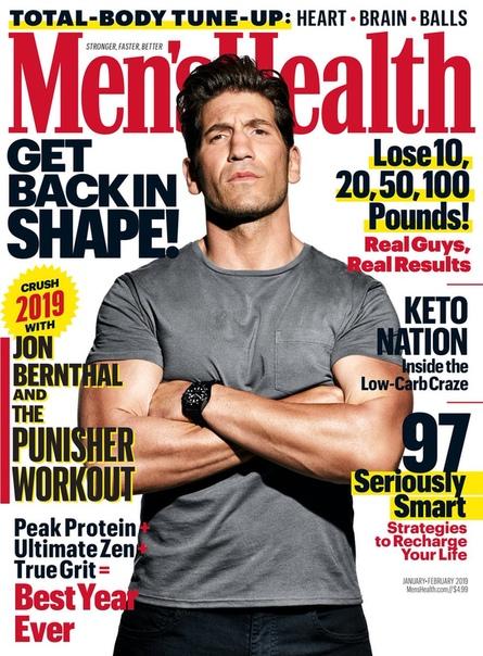 Jon Bernthal Mens Health Magazine, 2018