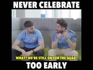 'premature celebration' is a condition affecting all man city fans 😂