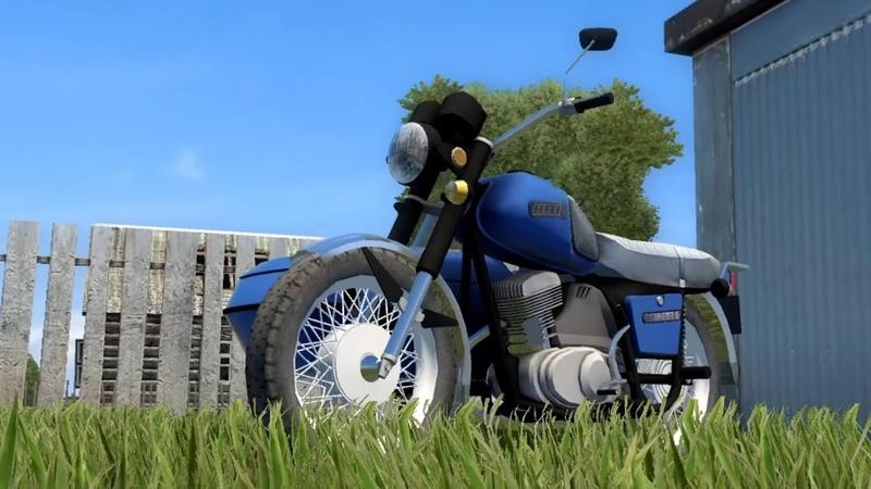 City Car Driving — Мотоцикл Иж Планета 5 IZH Planeta 5