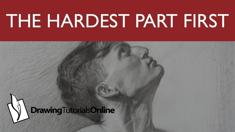 Drawing The Hardest Part First Builds Confidence
