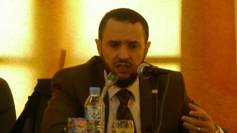 محاضرة للدكتور عبد الرحمان السنوسي حفظه ا160