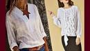 Эта красивая БЕЛАЯ блузка/Фасоны Фото/Выбираем фасон блузки, рубашки и шьем обновку
