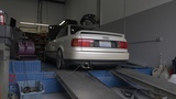 1993 Audi 80 90 S2 Inline 5 Turbo on Mustang Dyno