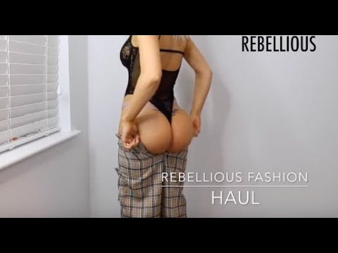 Rebellious Fashion Haul MY FIRST EVER CLOTHING HAUL IS REBELLIOUS FASHION WORTH IT