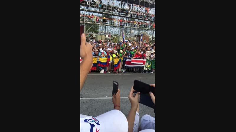 ВДМ в Панаме Приезд Папы