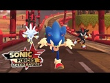 Sonic Forces Speed Battle Sonic, Shadow, &amp Silver Gameplay - Sonic 06