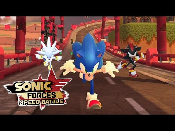 Sonic Forces Speed Battle: Sonic, Shadow, Silver Gameplay - Sonic 06