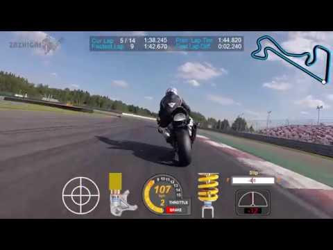 Moscow Raceway. RSBK 2018 Round 5. Superbike EVO2 EVO race onboard 43.
