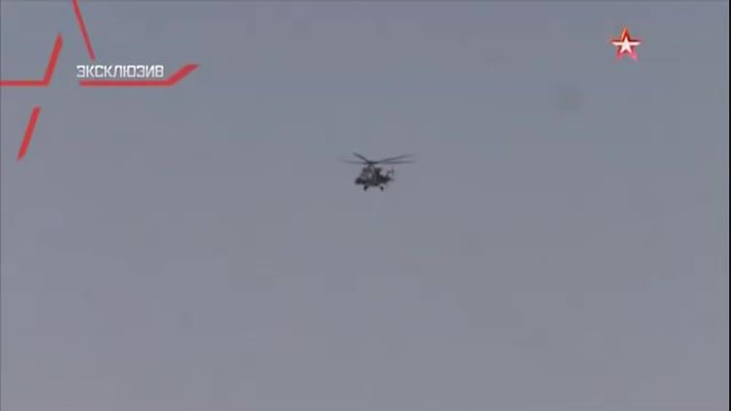 Ми-28Н Ночной охотник ВКС РФ испепеляет боевиков ИГИЛ.