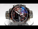 Casio Edifice ECB-800DB-1A Bluetooth Solar powered watch video 2018