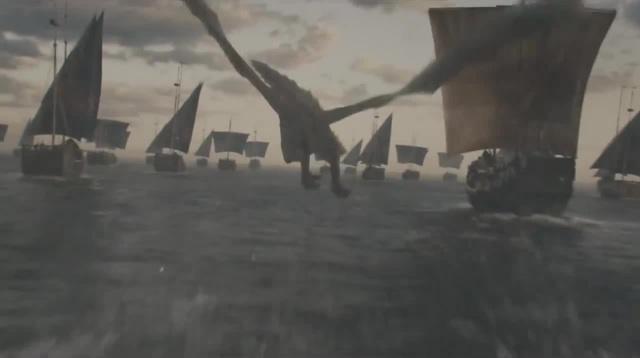 Игра престолов, Флот Дайенерис Таргариен, матери драконов.