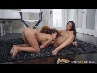 Cecilia lion & sophia leone [hd 1080, brunette, ebony, latina, lesbian, natural tits, porn 2018]