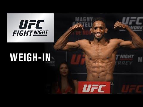 UFC Fight Night Argentina: Weigh-in