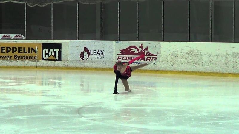 Yulia KARPINSKAYA, RUS, Cubs A Girls - Free Skating