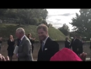 VIDEO The Prince of Wales and Duke and Duchess of Sussex walk back to the Castle.mp4