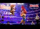 SB_Group| Полный матч за Женское Чемпионство WWE на «Реслмании 32» 2016: Саша Бэнкс против Шарлотт Флэр (ч) против Бэкки Линч