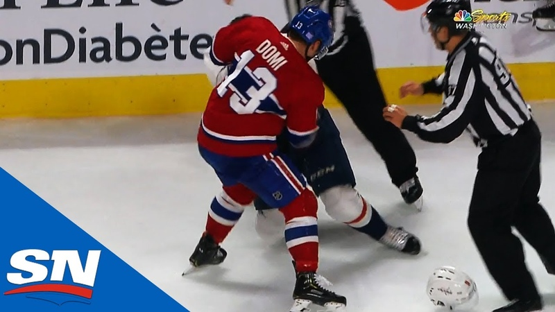 Dmitry Orlov in need of repairs after Max Domi lands upper cut