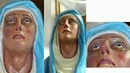 Sri Lanka Miracle of Mother Mary Statue Crying Blood Tears on Good Friday 19 April