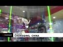 NC Свободное падение шестилетнего китайца