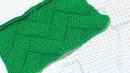 Плетенка Подробный разбор плетеного узора