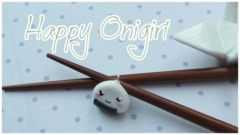 HAPPY ONIGIRI | FIMO Tutorial | HOW TO