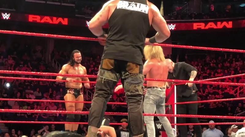 WWE Dark Match: Dean Ambrose Teams up with Seth Rollins, Braun Strowman and Finn Balor (Full Match)