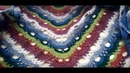 БАКТУС Модный аксессуар НАВЯЗАЛА🌸 crochet baktus shawl