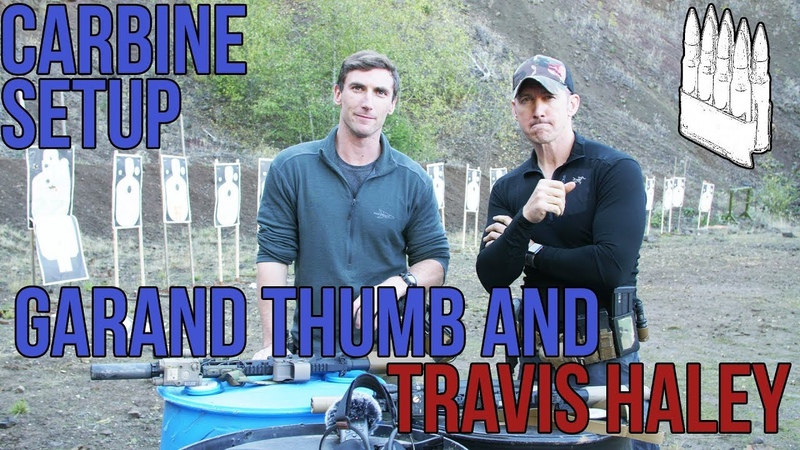Travis Haley and Garand Thumb talk about their carbine (AR15/M4) setups