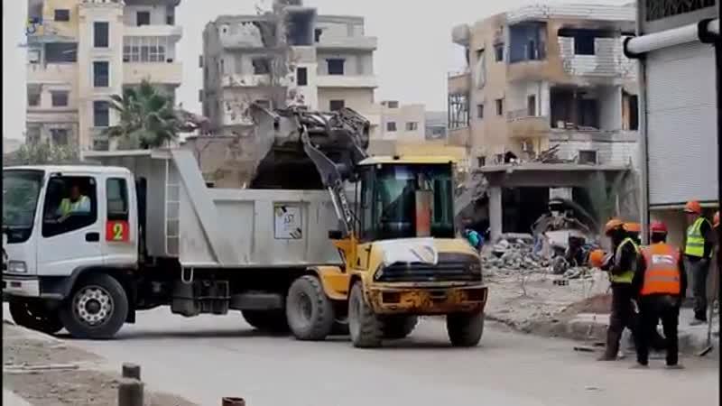Работы в Ракке 15.11.2018