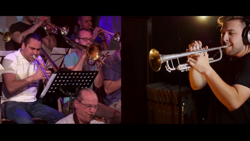 BJC Big Band Feat. Louis Dowdeswell, Ryan Quigley Andy Greenwood - Give It One (Maynard Ferguson)