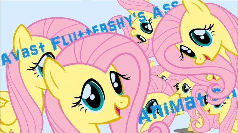 Avast Fluttershys Ass Упоротая анимация 1080p