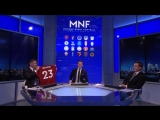 Jamie Carragher and Gary Neville swap Manchester United and Liverpool shirts! _ MNF