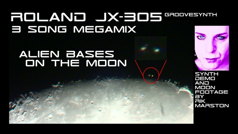 Roland JX-305 Megamix Alien Bases on the Moon Synthesizer Dance Music Rik Marston
