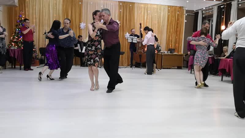 Ронда преподавателей Поволжского Танго Конгресса. Tango Orquesta Recuerdo. Toda mi vida
