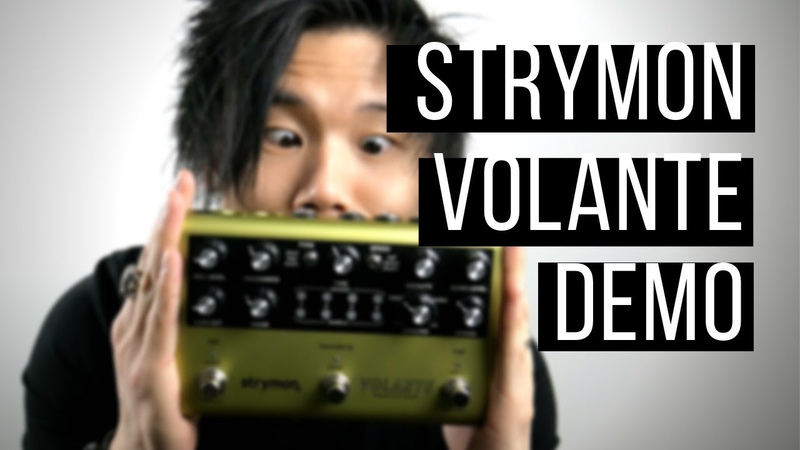 NEXT GEN TAPE DELAY!! - Strymon Volante Review