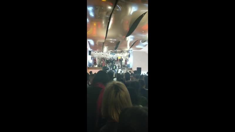 Daneliya Tuleshova feat. AlvinToday на презентации фильма Каникулы off-line 18.03.2019