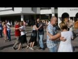 Большой всероссийский тангофлешмоб в Воронеже. La Cumparsita