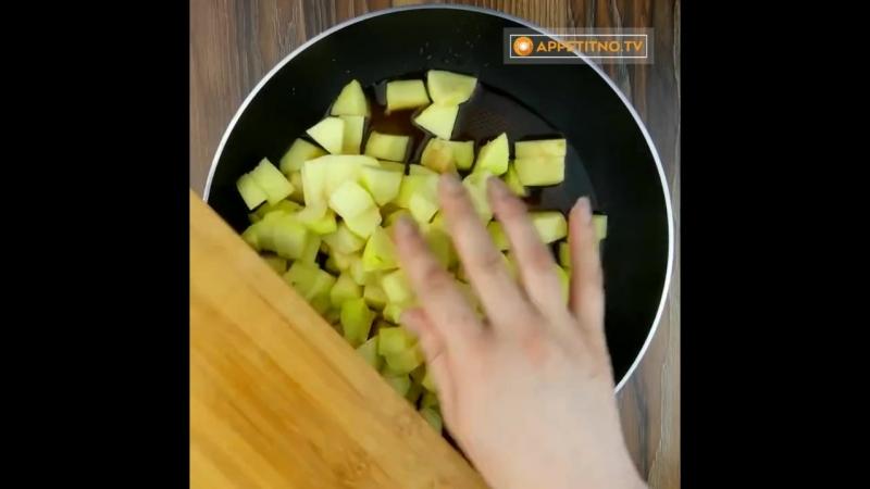 рецепт яблочного пирога » Freewka.com - Смотреть онлайн в хорощем качестве