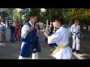 Мастер класс №2 от спортсменов отделения Киокусинкай карате МУ Спортивная школа ВМР