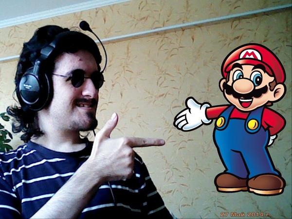 Некрос прошёл ВЕСЬ Марио за 6 минут !