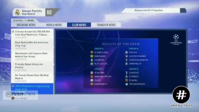 FIFA19 Career Mode biggest NEW Feature... -