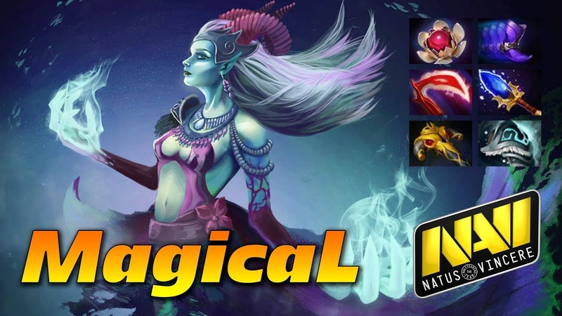 MagicaL Death Prophet w Aghanims - Dota 2 Pro Gameplay