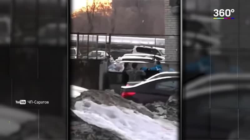 Побили водителя