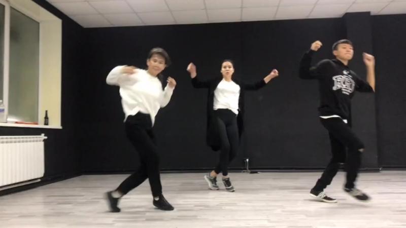 Roza,Barty,Ayur choreo by Ishigi x Sardaana