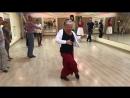 Эльвира Малишевская Аргентинское танго 1 е занятие на заводе Картонтоль
