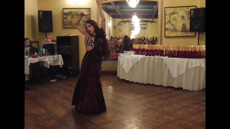 Tamara Bornia en Sgo Del Estero Baladi Awal