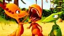 Мультик про динозавров. Волшебный ПОЕЗД ДИНОЗАВРОВ. Долина Стигимолохов